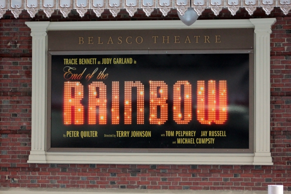 UP ON THE MARQUEE: END OF THE RAINBOW!