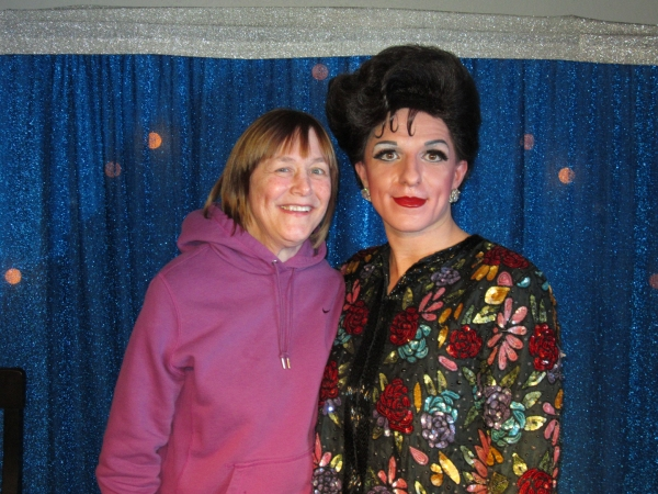Photo Flash: Geri Jewell Attends JUDY GARLAND LIVE!