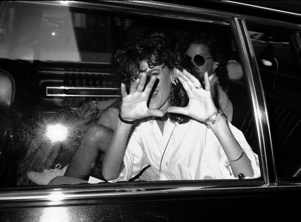 Sandra Bernhard leaving 30 Rock in New York City. 5/28/1985 at Photo Blast From The Past: Sandra Bernhard