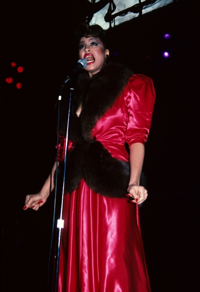Phyllis Hyman pictured at Studio 54 in New York City in 1982.