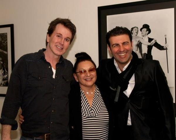 Davis Gaines, Martha Wasserman and David Serero
