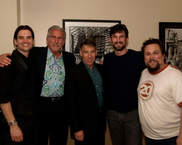 Matthew Smedal, Paul Garman, Stephen Schwartz, Damon Kirsche and Justin Squigs Robertson