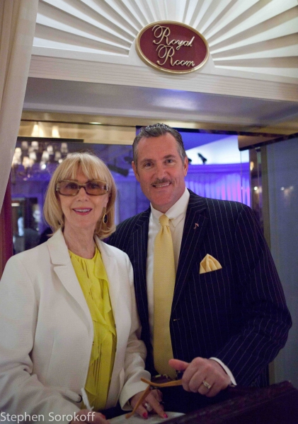 Signe Owrenn & Rob Russell at Paulo Szot Plays The Colony's Royal Room in Palm Beach