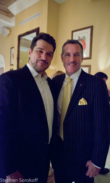 Paulo Szot & Rob Russell Entertainment Director at Paulo Szot Plays The Colony's Royal Room in Palm Beach