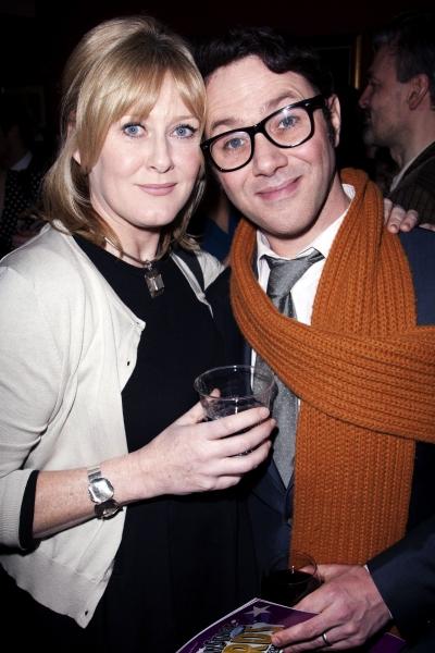 Sarah Lancashire and Reece Shearsmith (Credit: Photo by Dan Wooller/Rex / Rex USA)