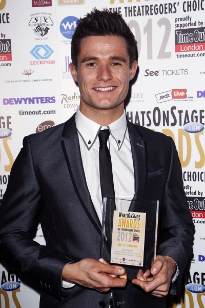 Mark Evans (Credit: Photo by Dan Wooller/Rex / Rex USA) at More From The Whatsonstage.com Awards!