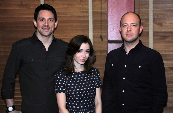 Photo Coverage: Meet Cristin Milioti, Steve Kazee & the Company of ONCE!
