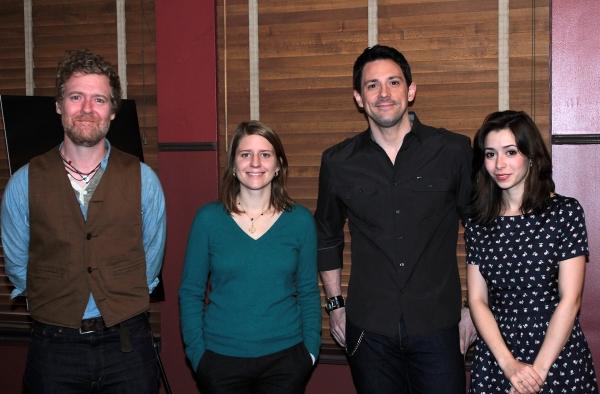 Photo Coverage: Meet Cristin Milioti, Steve Kazee & the Company of ONCE!