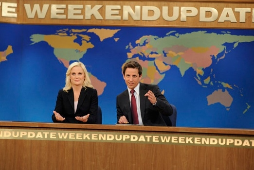 Amy Poehler & Seth Meyers