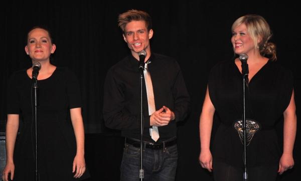 Lora Lee Gayer, Hunter Ryan Herdlicka and Ryah Nixon