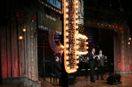 Photo Flash: Nick Jonas Performs on LATE NIGHT WITH JIMMY FALLON's 'Broadway Week'