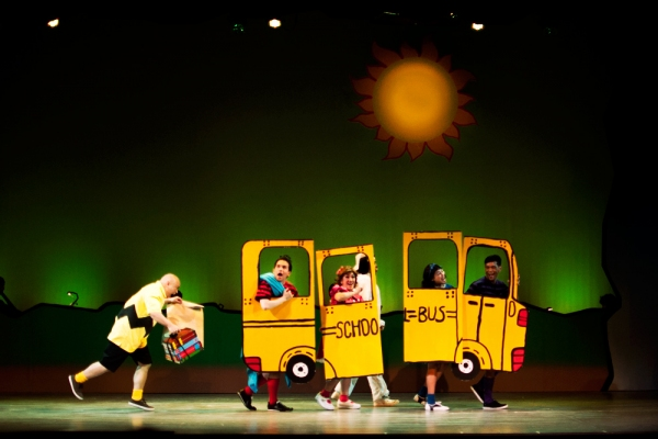 Robbie Guevara, Franco Laurel, Sweet Plantado-Tiongson, Lorenz Martinez, Carla Guevara-Laforteza, Tonipet Gaba at 9 Works Theatrical Presents YOU'RE A GOOD MAN, CHARLIE BROWN