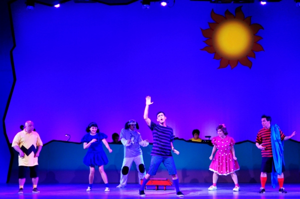 Robbie Guevara, Carla Guevara-Laforteza, Lorenz Martinez, Tonipet Gaba, Sweet Plantado-Tiongson, Franco Laurel at 9 Works Theatrical Presents YOU'RE A GOOD MAN, CHARLIE BROWN