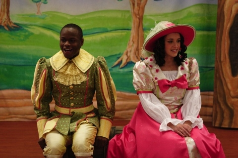 Jerome Lowe as John and Cara Myler as Princess