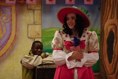 Jerome Lowe as John and Cara Myler as Princess