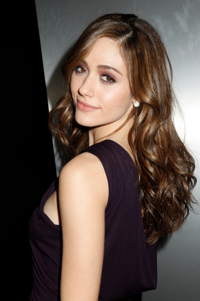 Emmy Rossum at Donna Karan Show at NYC Fashion Week