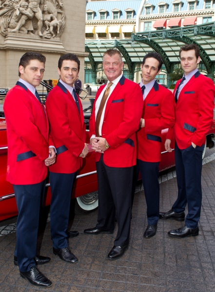 Photo Flash: Jersey Boys Gets Official Welcome at Paris Las Vegas