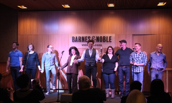 Callan Bergmann, Pamela Bob, Topher Nuccio, Jenn Harris, Brent Barrett, Annie Funke, Howard Kaye, Stephen Bienskie & Harry Bouvy