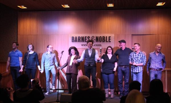 Callan Bergmann, Pamela Bob, Topher Nuccio, Jenn Harris, Brent Barrett, Annie Funke, Howard Kaye, Stephen Bienskie & Harry Bouvy