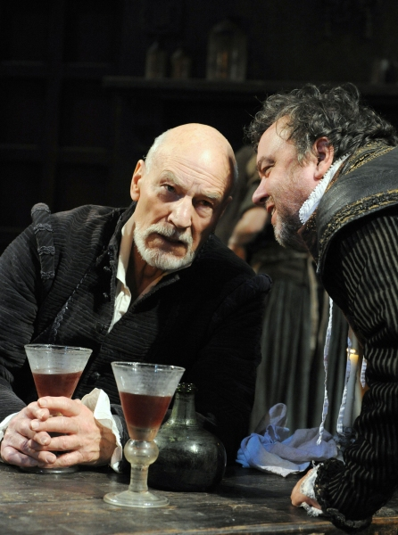 Photo Flash: First Look at Patrick Stewart in BINGO at The Young Vic