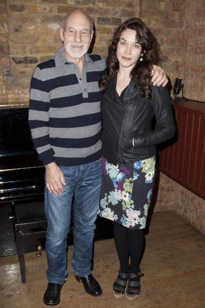 Patrick Stewar and Sunny Ozell Photo