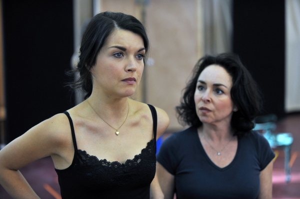 Photo Flash: FILUMENA in Rehearsal at the Almeida Theatre