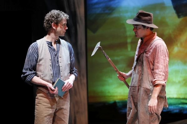 Lucas Hall (Robert Mayo) and Rod Brogan (Andrew Mayo) in Eugene O'Neill's BEYOND THE  Photo