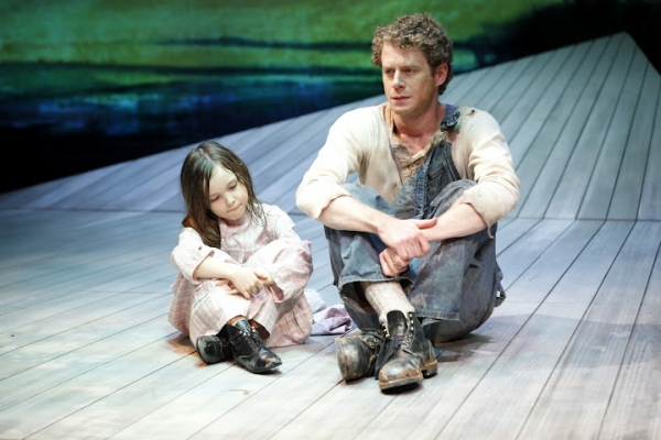 Aimee Laurence (Mary) and Lucas Hall (Robert Atkins) in Eugene O'Neill's BEYOND THE HORIZON