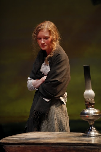 Wrenn Schmidt (Ruth Atkins) in Eugene O'Neill's BEYOND THE HORIZON at Irish Repertory Theatre's BEYOND THE HORIZON