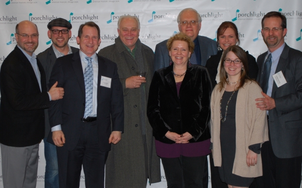 Artistic Director Michael Weber, Porchlight Music Theatre Chicago Board Members Bil Ingraham, Tony Calzaretta, Bill Crowther, Cheryl Coons, James Jensen, Jeannie Lukow, Kathryn Michael and Managing Director Jon Heuring