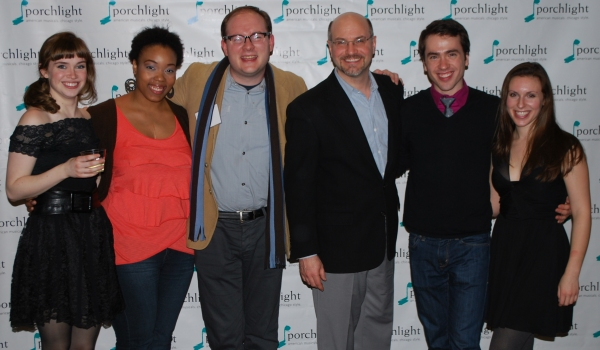 Kelly Davis Wilson (Janey Hurley), Brittani Arlandis Green (Alice), Music Director Doug Peck, Artistic Director Michael Weber, Nate Lewellyn (Ralph Standby) and Brittany Bookbinder (Janey/Alice Standby)
