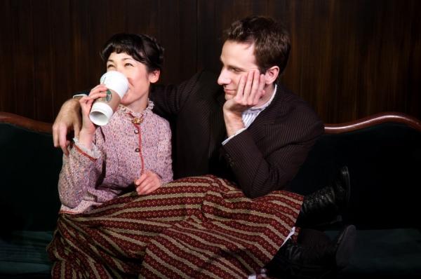 Kimiye Corwin and Matt Harrington