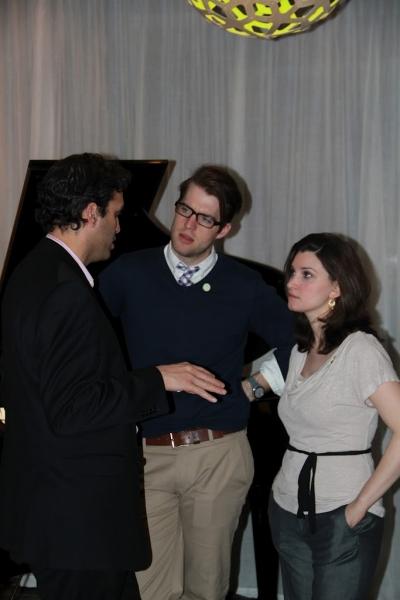 Dr. Nimesh Nagarsheth, Bobby Kean and Rachel Benichak