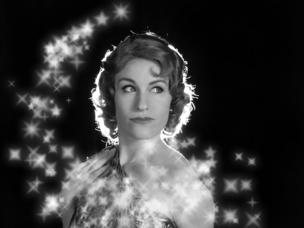 Katie Ulrich as the Glamorous Showgirl