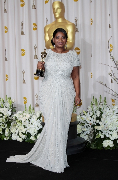 Octavia Spencer at 2012 Academy Awards - The Winners!