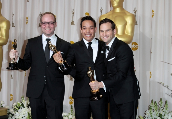 Producer Rich Middlemas, directors T.J. Martin and Dan Lindsay