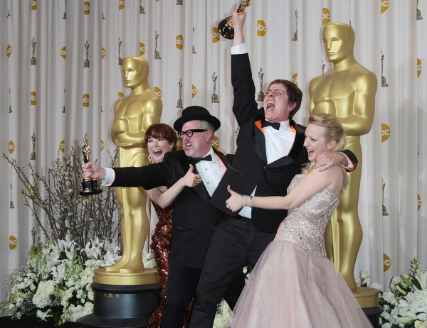 Ellie Kemper, filmmakers William Joyce and Brandon Oldenburg, and actress Wendi McLendon-Covey