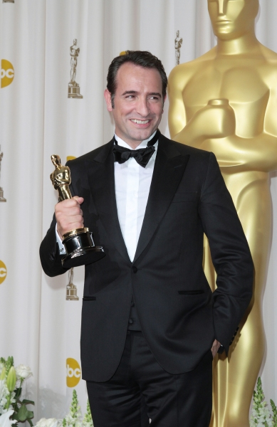 Jean Dujardin at 2012 Academy Awards - The Winners!