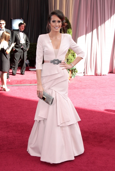 Louise Roe at 2012 Academy Awards - Red Carpet Part 1