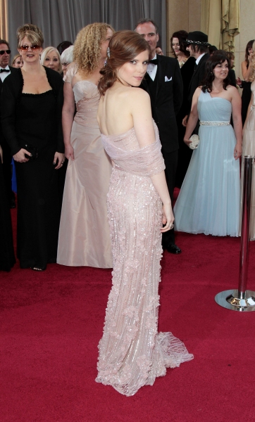 Kate Mara at 2012 Academy Awards - Red Carpet Part 1