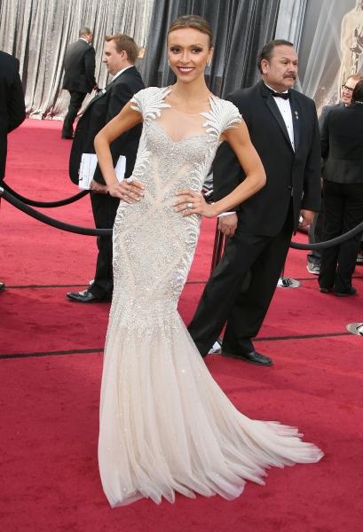 Giuliana Rancic at 2012 Academy Awards - Red Carpet Part 1