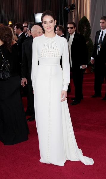 Shailene Woodley at 2012 Academy Awards - Red Carpet Part 1