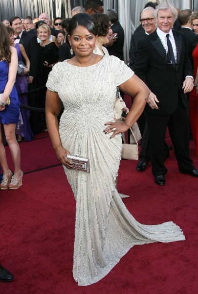 Octavia Spencer at 2012 Academy Awards - Red Carpet Part 2