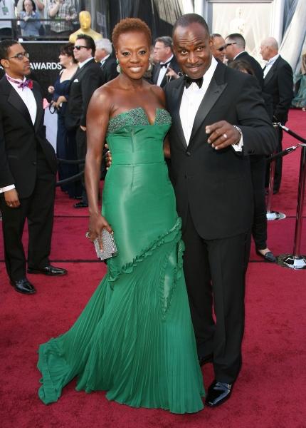 Viola Davis and Julius Tennon at 2012 Academy Awards - Red Carpet Part 2