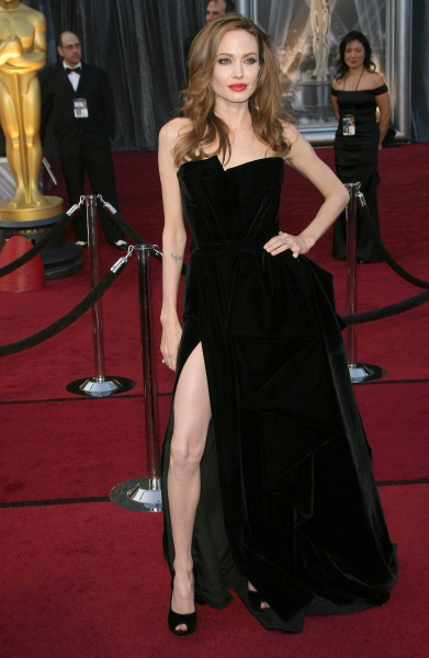 Angelina Jolie at 2012 Academy Awards - Red Carpet Part 2