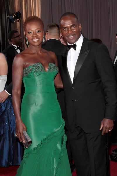 Viola Davis at 2012 Academy Awards - Red Carpet Part 2