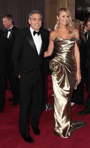 George Clooney; Stacy Kiebler