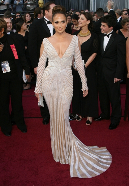 Jennifer Lopez at 2012 Academy Awards - Red Carpet Part 2