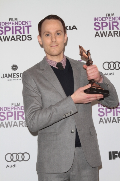 Will Reiser pictured at the 2012 Film Independent Spirit Awards Press Room in Santa M Photo