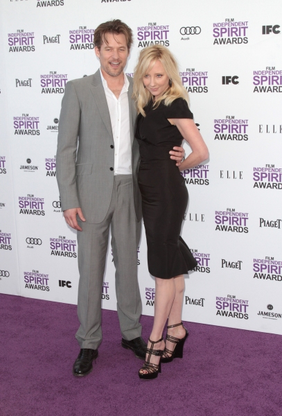 Anne Heche & James Tupper pictured arriving at the 2012 Film Independent Spirit Awards in Santa Monica, Ca February 25, 2012 © RD / Orchon / Retna Digital